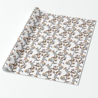 Spring Chicken Sprung Wrapping Paper
