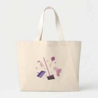 Spring Cleaning Jumbo Tote Bag