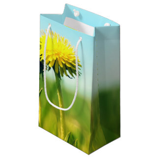 Spring dandelions small gift bag