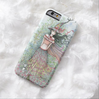 Spring Flower Witch Fantasy Art Wiccan Barely There iPhone 6 Case