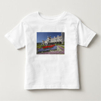 Spring Flowers and Historic Railway Station, Toddler T-Shirt