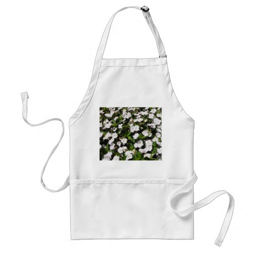 spring flowers apron