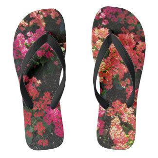 Spring flowers Flip Flops Thongs