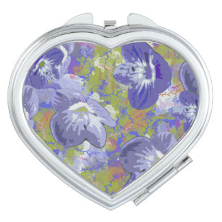 Spring Flowers Makeup Mirrors
