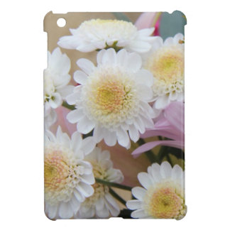 Spring Flowers, White Daisy Mums iPad Mini Cover