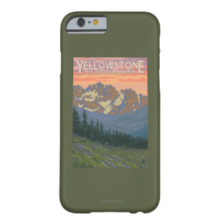 Spring Flowers - Yellowstone National Park Barely There iPhone 6 Case