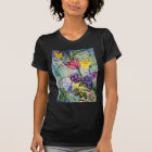 Spring Garden Watercolor Painting T-Shirt