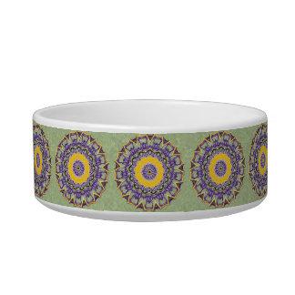 Spring Gem Mandala Pet Food Bowls