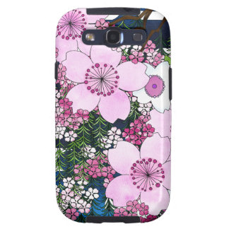 Spring in Japan - Cute and Girly Kimono Style Samsung Galaxy S3 Cover