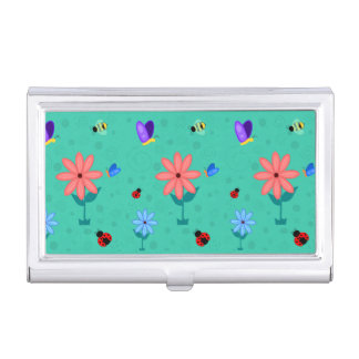 Spring is Here! Business Card Holder