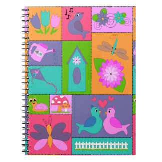 Spring is in the Air Spiral Notebook