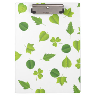 "Spring Leaves ""change background"" Clipboards"
