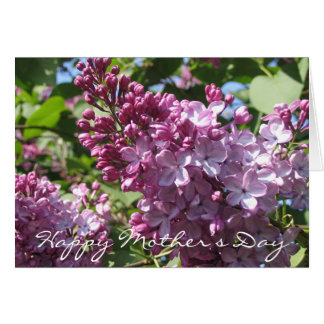Spring Lilac Mother's Day Card