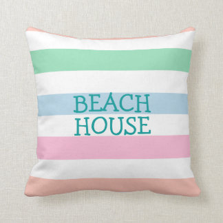 Spring or Summer Beach House Cushion