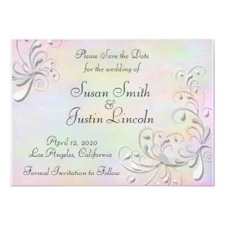 Spring Rhapsody Save The Date Card