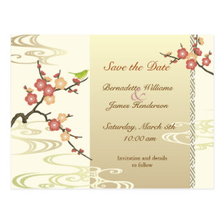 Spring Save the Date Postcard