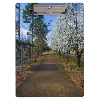 Spring Walk Clipboard