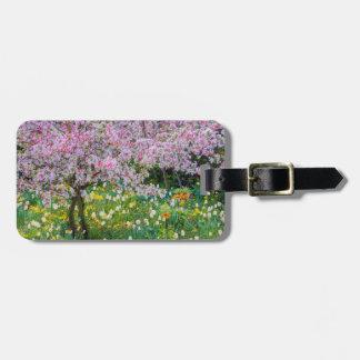 Springtime in Claude Monet's garden Bag Tag
