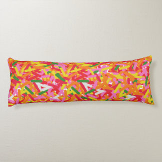 Sprinkle Body Pillow, Yummy, Sugary Sweet Pillow