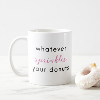 Sprinkled Donuts Coffee Mug