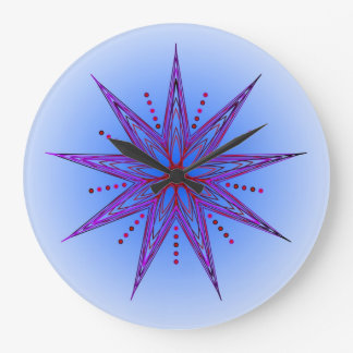 Spritual Growth 7 Large Clock