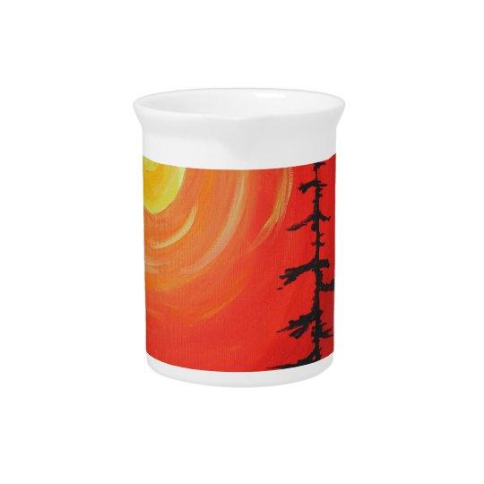 Spruce Sunset Drink Pitcher