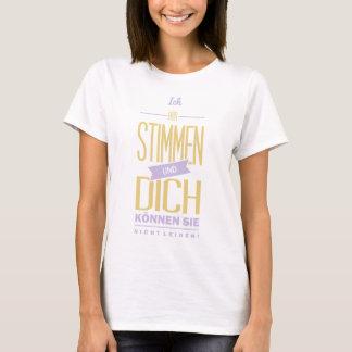 Spruch_Stimmen_2c.png T-Shirt