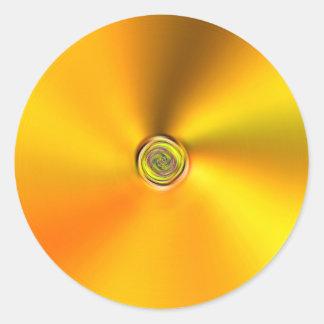 Spun Gold Sticker