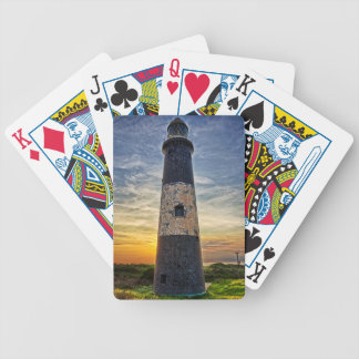 Spurn Point Lighthouse Bicycle Playing Cards