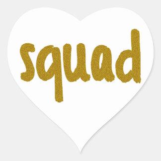 Squad Heart Sticker