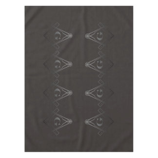 Square and Compass with Inset G Tablecloth