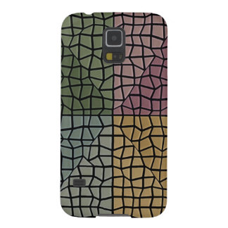 Square and triangle mosaic pattern galaxy s5 case