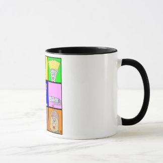 Square Character Mug-Paint Town Tales Mug
