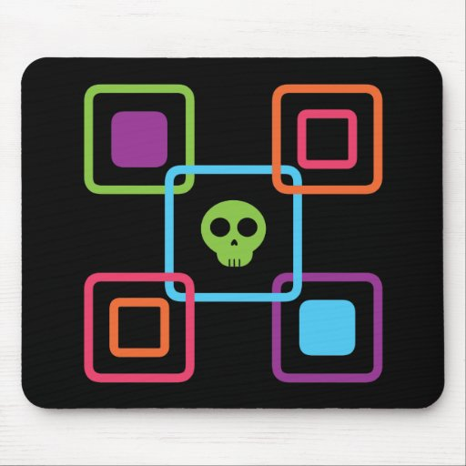 Square Skull Mousepad