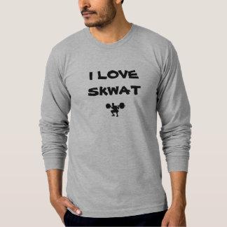 squat-technique, I LOVE SKWAT T-Shirt