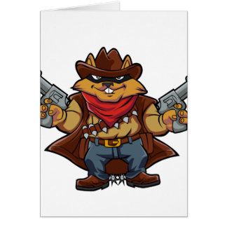 Squirrel Bandit Card