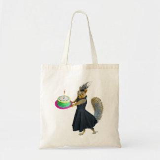 Squirrel Cake Tote Bag