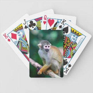 Squirrel monkey Amazon Peru Bicycle Playing Cards