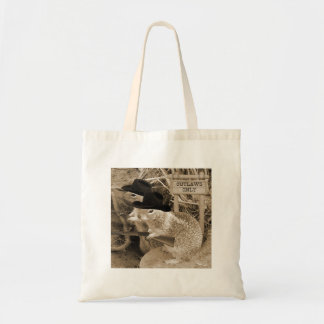 Squirrel Outlaws In The Old West Tote Bag