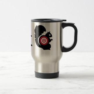 Squirrel Patrol Stainless Steel Travel Mug