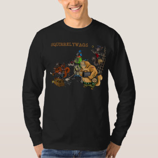 SQUIRRELYWAGS T-SHIRTS