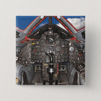 SR71 Blackbird Aircraft Cockpit 15 Cm Square Badge