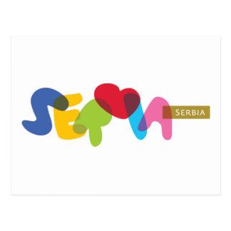 Srbija, Serbia Postcard