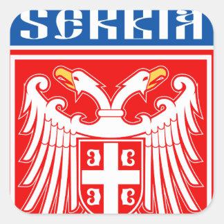 Srbija Square Sticker