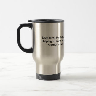SRMA- The Warrior within Stainless Steel Travel Mug