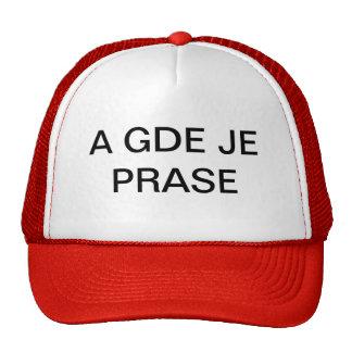 SRPSKO PECENO PRASE CAP