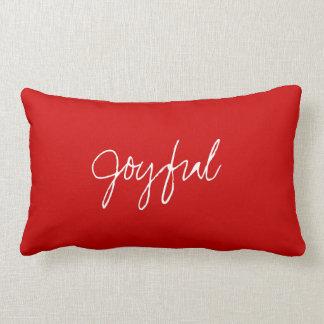 S's Joyful Heart Pillow Throw Cushions