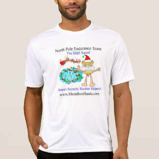 SSSH! North Pole Endurace Team Running Shirt