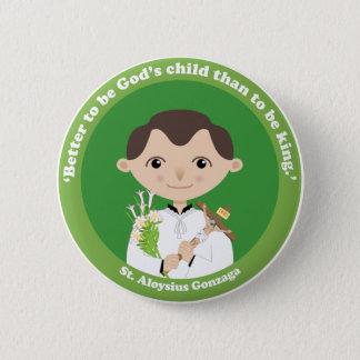 St. Aloysius Gonzaga 6 Cm Round Badge