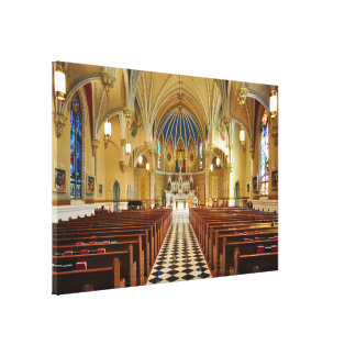 St Andrew s Catholic Church Roanoke Virginia Gallery Wrapped Canvas